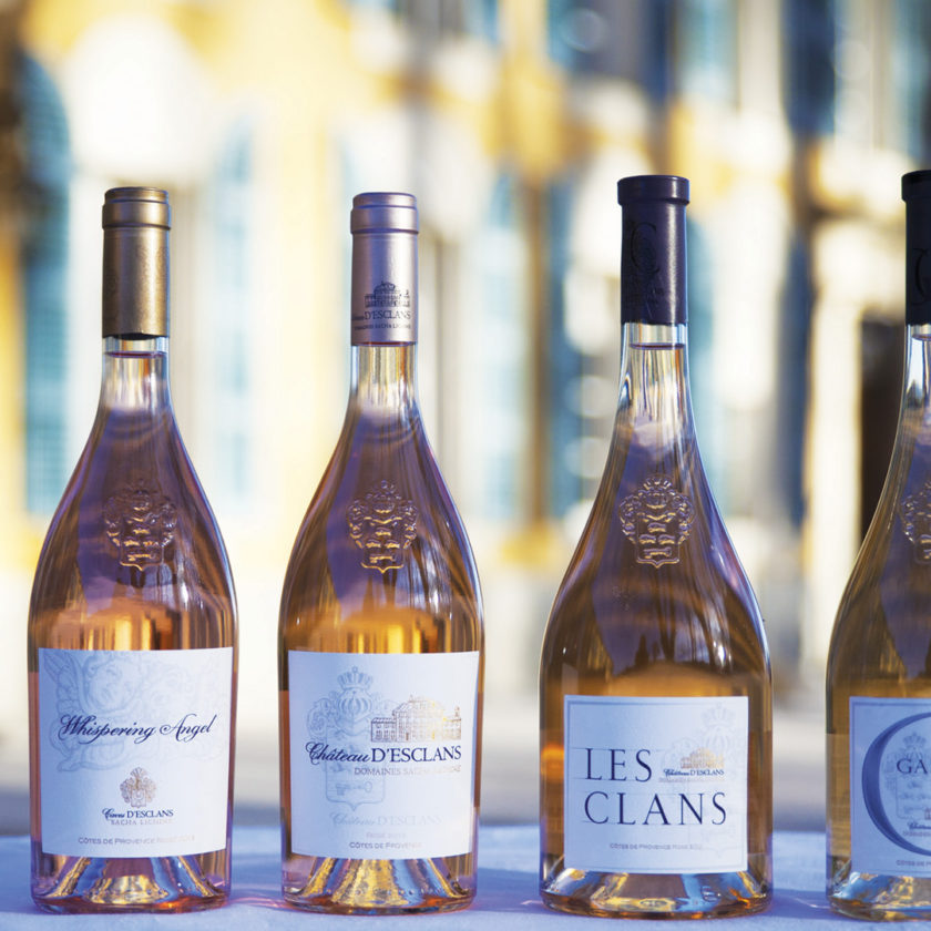 Экспорт розового вина во Франции вырос на 4852%