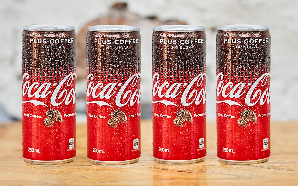 Coca-Cola Plus Coffee No Sugar