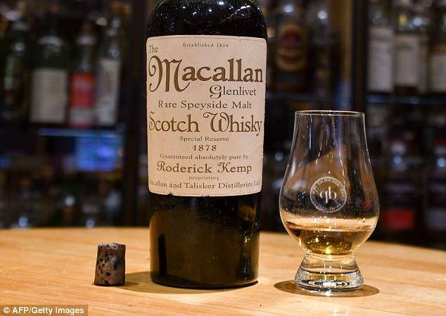 Самый дорогой виски Macallan оказался подделкой