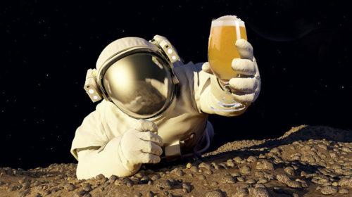Пиво в космосе