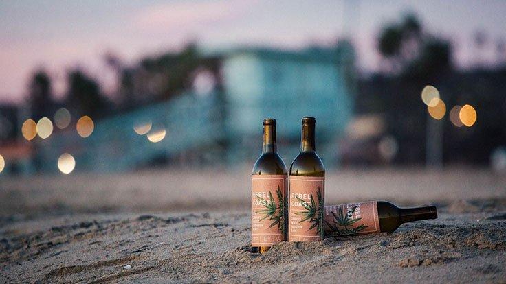 Вино с марихуаной Rebel Coast 2016 Sauvignon Blanc