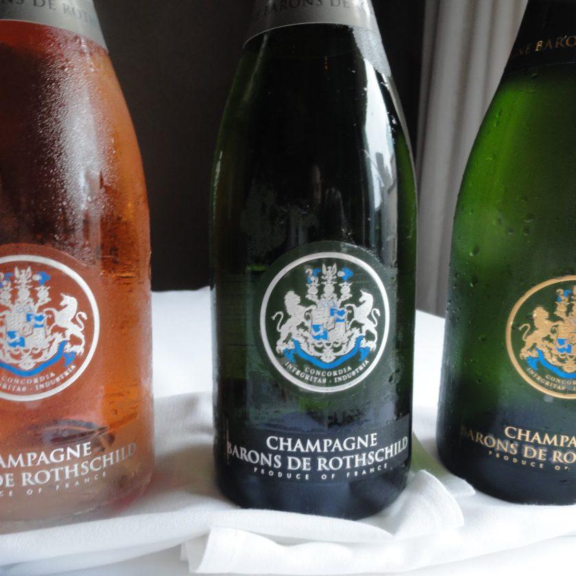 Шампанское Rothschild rosé Champagne
