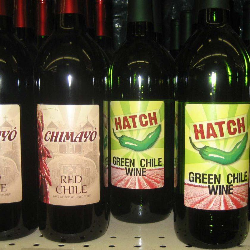 Вино с перцем чили Hatch Green Chile Win