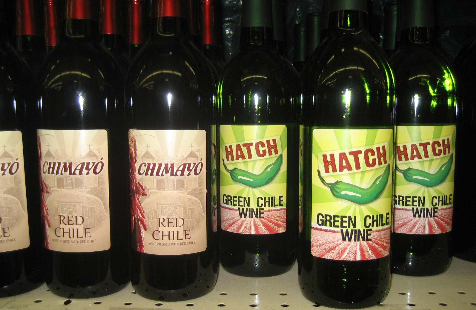 Вино с перцем чили Hatch Green Chile Win