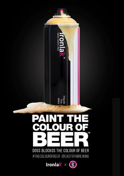 Paint the  Colour of the Beer