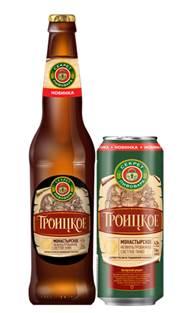 Пиво Секрет пивовара. Троицкое. Монастырское