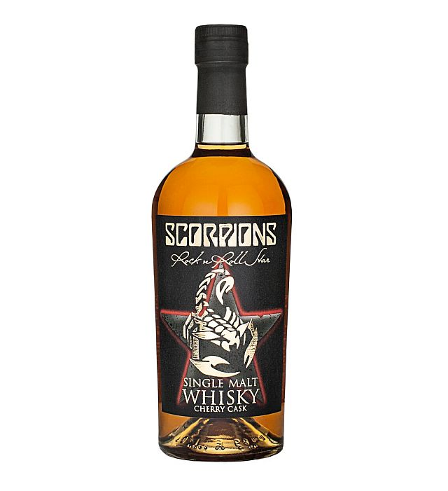 Scorpions выпускают виски