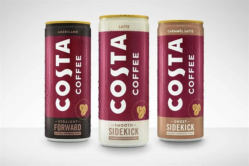 Coca-Cola и Costa Coffee запускают готовый к употреблению кофе Costa Coffee