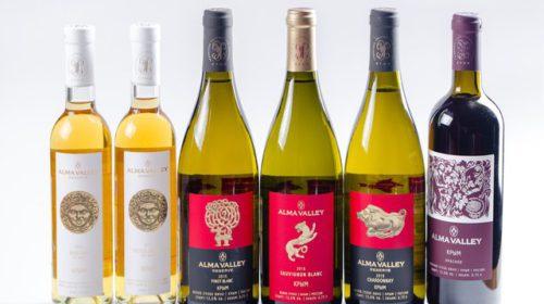 Alma Valley получило три медали на конкурсе International Wine & Spirits