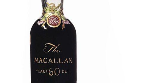 Бутылка Macallan продана за 1,5 млн. долларов