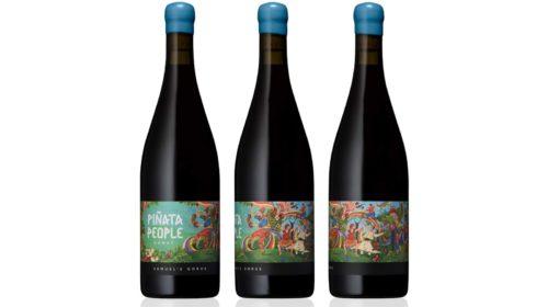 Шутливая упаковка для серьезного вина