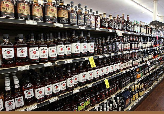 Продажи спиртных напитков в США выросли на 27 процентов