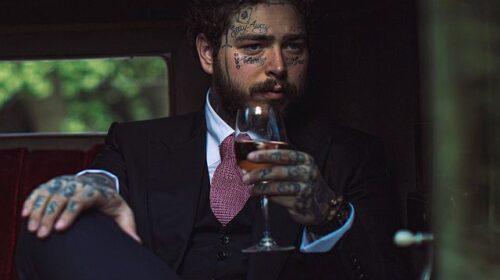 Певец Пост Малоун выпускает розовое вино под своей маркой