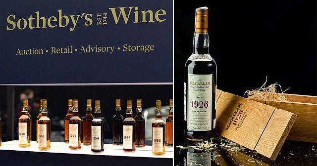 Аукционный дом Sotheby's продал алкоголя на 92 миллиона долларов