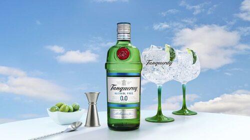 Компания Diageo выпустила безалкогольный джин Tanqueray 0.0%