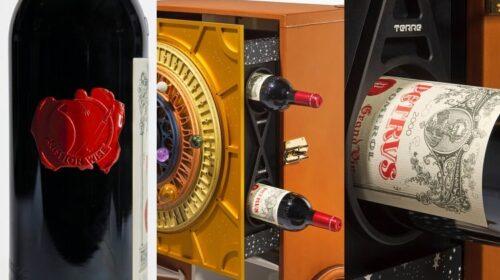 Бутылка вина Pétrus, побывавшая в космосе, выставлена на аукцион
