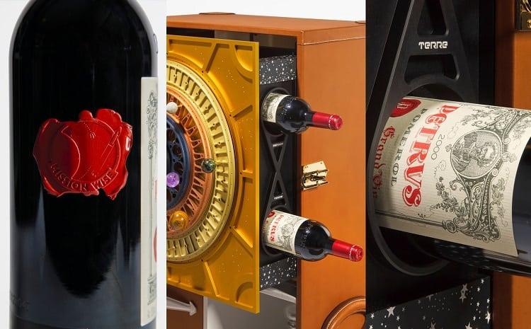 Вино Pétrus из космоса